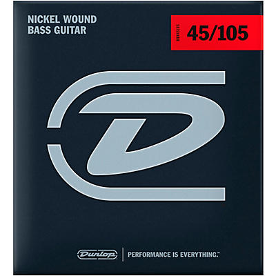 Dunlop DBN45105XL Bass-NKL 45/105 Extra-Long Scale 4-String Set