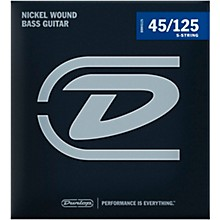 Dunlop DBN45125XL Bass-NKL 45/125 Extra-Long Scale 5-String Set