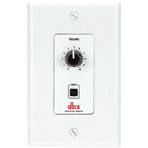 dbx DBXZC2V Wall Mount Zone Control with Mute
