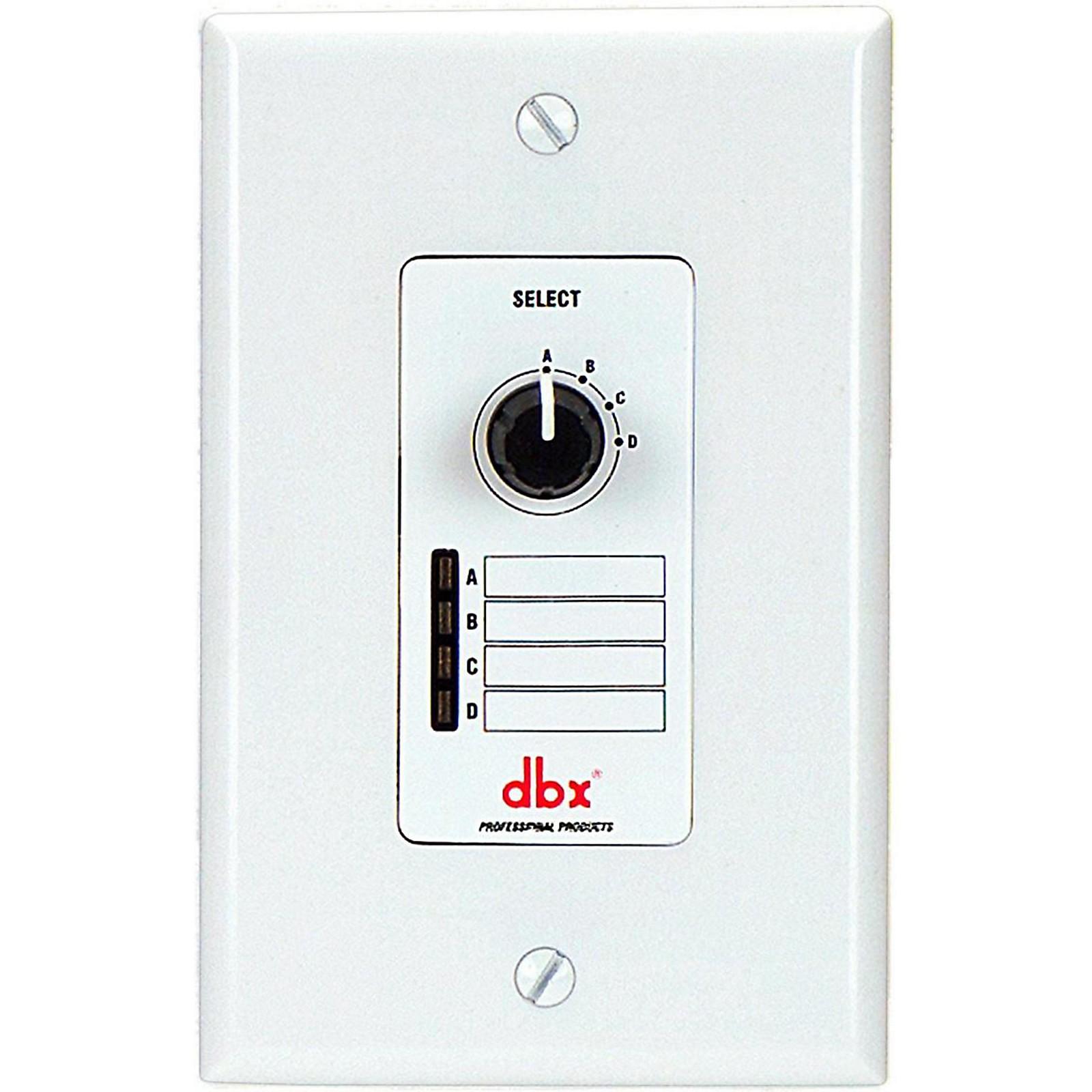 dbx DBXZC3V Wall Mount Zone Control