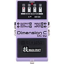 Open BoxBoss DC-2W Dimension C Waza Craft Guitar Effects Pedal