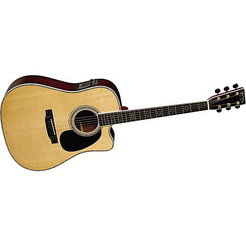 Martin DC-Aura Cutaway Acoustic-Electric Guitar