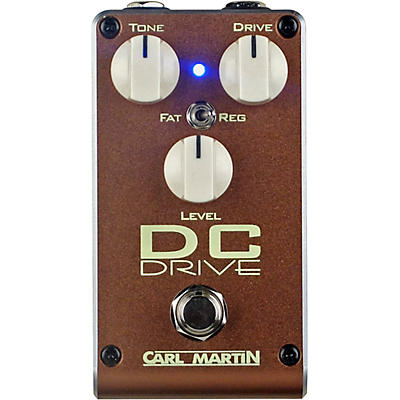 Carl Martin DC Drive 2018 Overdrive Effects Pedal