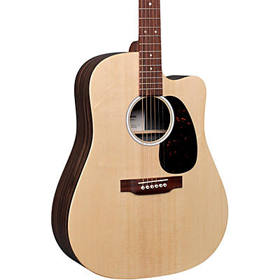 Martin DC-X2E Macassar Ebony Dreadnought Acoustic-Electric Guitar