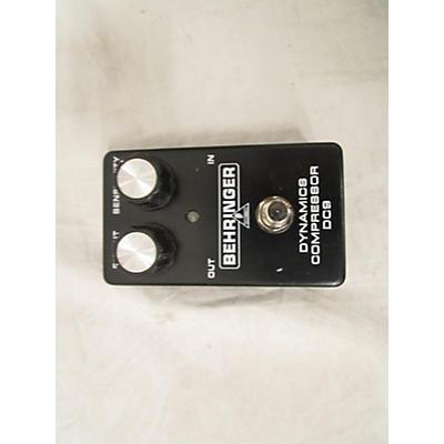 Behringer DC9 Compressor Effect Pedal