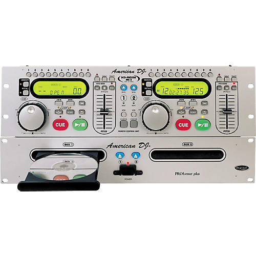 American Audio DCD-PRO300 MK2 Dual CD Player
