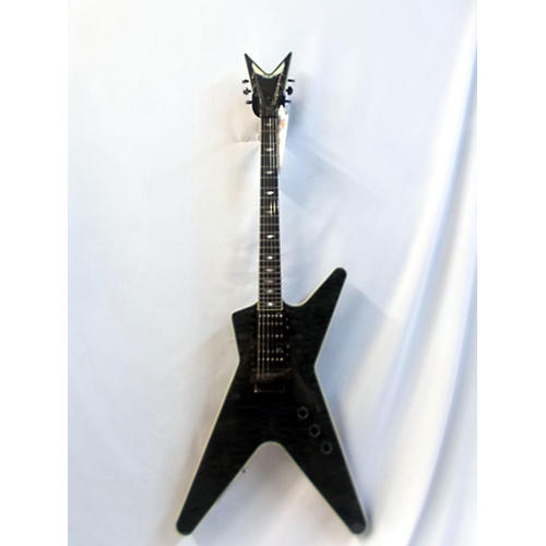 Dean DCR Switchblade ML Solid Body Electric Guitar Trans Black