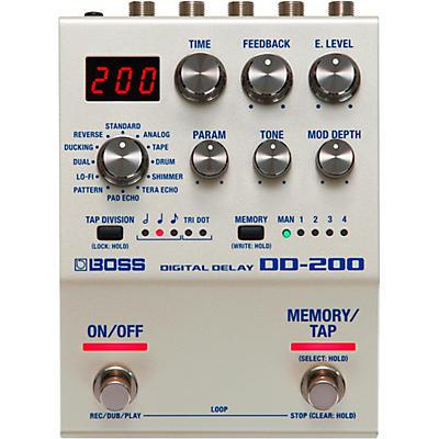 Boss DD-200 Digital Delay Effects Pedal