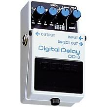 Open BoxBoss DD-3 Digital Delay Pedal