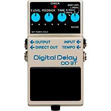 Open BoxBoss DD-3T Digital Delay Effects Pedal