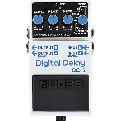 boss dd 6 digital delay guitar effects pedal musician 39 s friend. Black Bedroom Furniture Sets. Home Design Ideas