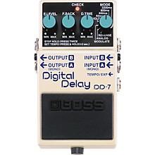 Open BoxBoss DD-7 Digital Delay Guitar Effects Pedal