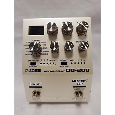 Boss DD200 Digital Delay Effect Pedal