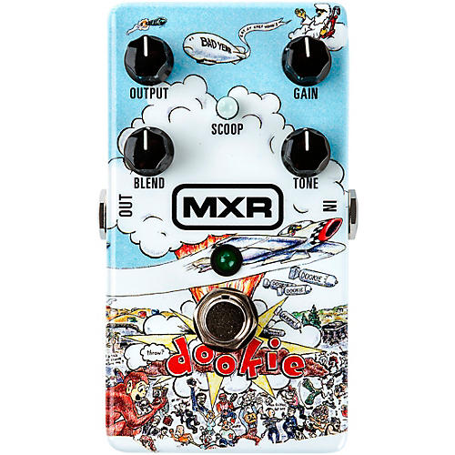 MXR DD25 Green Day Dookie Drive Effects Pedal
