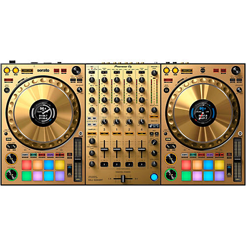 Pioneer DDJ-1000SRT-N Limited Edition Gold Controller for Serato DJ Pro Gold
