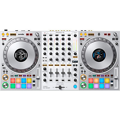 Pioneer DDJ-1000SRT-W Limited Edition White Controller for Serato DJ Pro