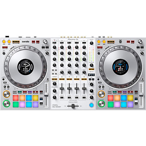 Pioneer DDJ-1000SRT-W Limited-Edition White Controller for Serato DJ Pro
