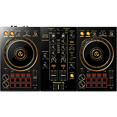 Pioneer DDJ-400-N Limited Edition Gold 2-Channel DJ Controller for rekordbox dj