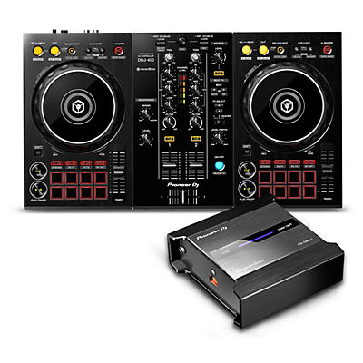 Pioneer DDJ-400 Performance Controller with RB-DMX1 Lighting Controller for Rekordbox