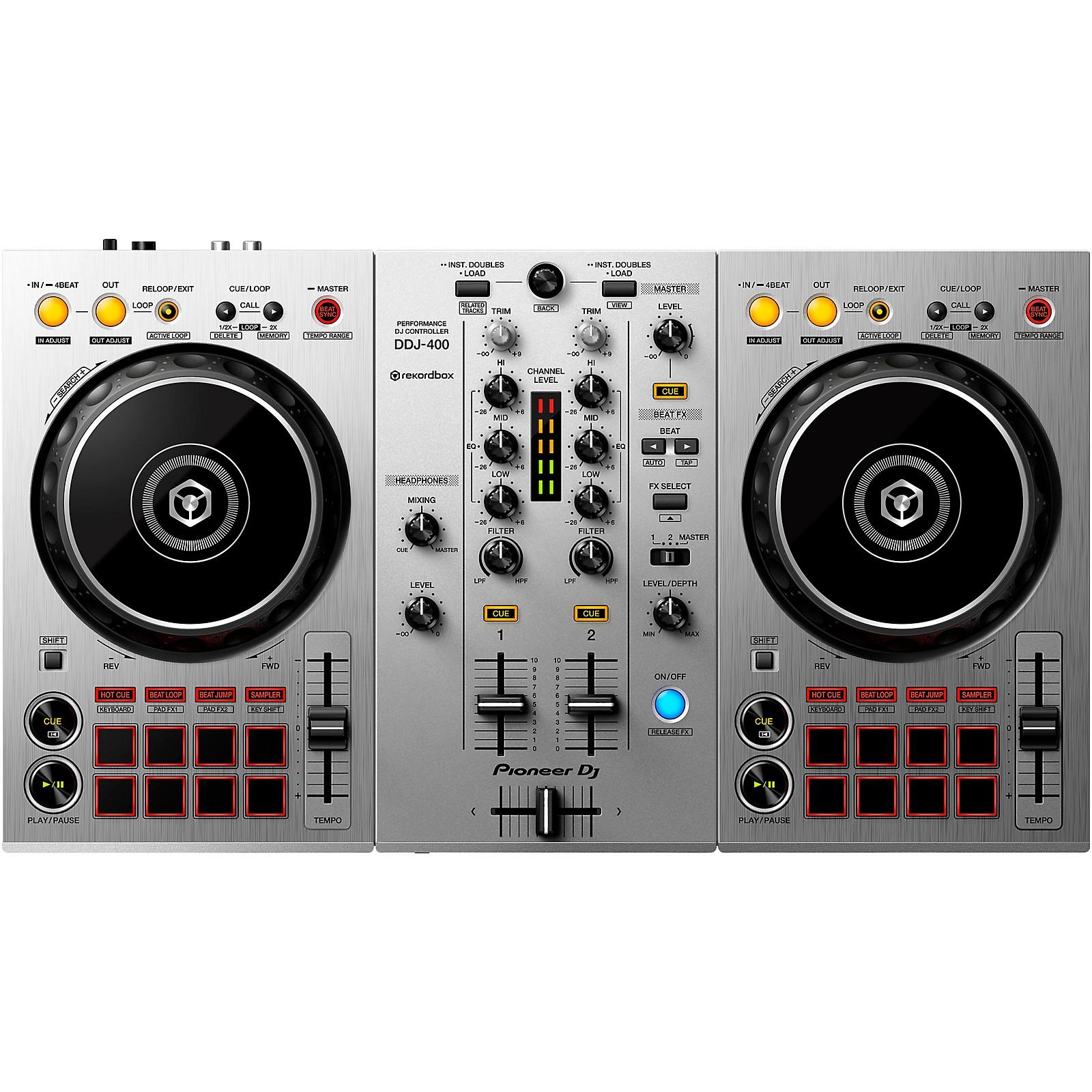 Pioneer DDJ-400-S Silver Edition 2-Channel DJ Controller