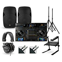 Pioneer DDJ-RZX with Harbinger V1015 DJ Package