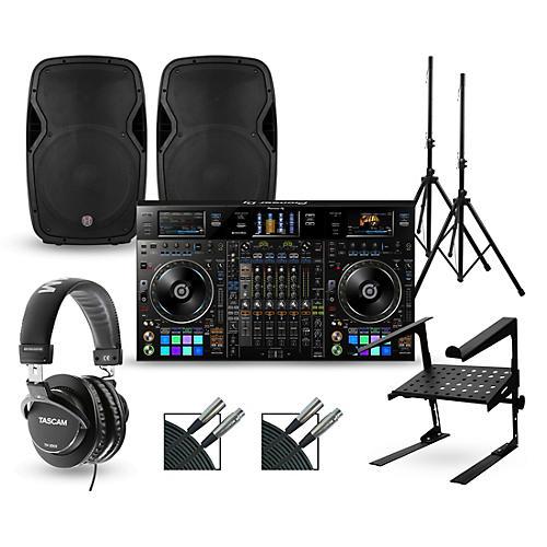 Pioneer DDJ-RZX with Harbinger V1015 DJ Package