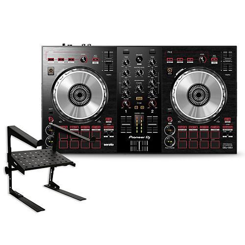 Pioneer DDJ-SB3 Serato DJ Controller with Laptop Stand