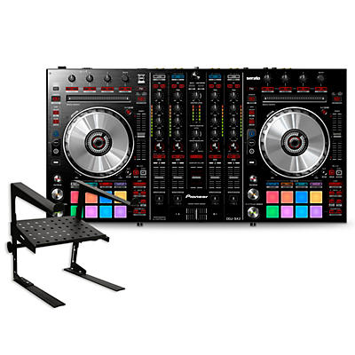 Pioneer DDJ-SX2 Performance DJ Controller with Laptop Stand