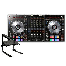 Pioneer DDJ-SZ2 Professional DJ Controller with Laptop Stand