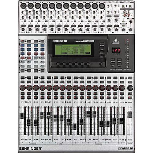 behringer ddx3216 digital mixer musician 39 s friend