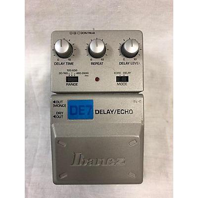 Ibanez DE7 DELAY ECHO Effect Pedal