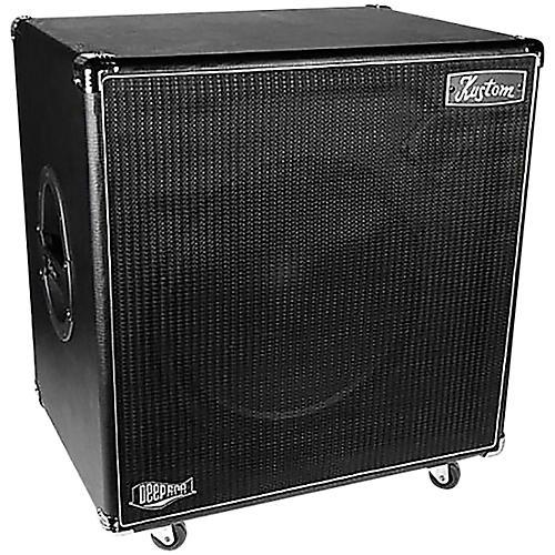 kustom deep115 700w 1x15 bass speaker cabinet musician 39 s friend. Black Bedroom Furniture Sets. Home Design Ideas