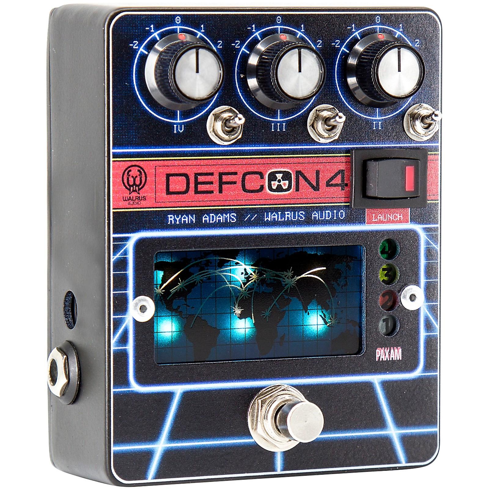 Walrus Audio DEFCON 4 Preamp EQ Boost Pedal