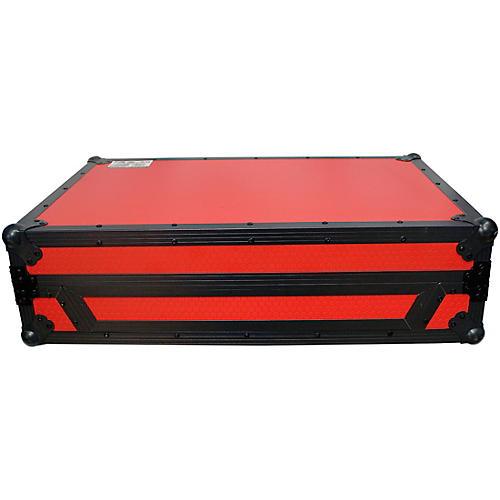 ProX DENON MCX8000 Flight Road Case with Sliding Laptop Shelf and Wheels (XS-MCX8000WLTRB)