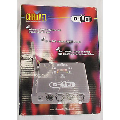 CHAUVET Professional DFI DMX WIRELESS RECEIVER AND TRANSMITTER Wireless System