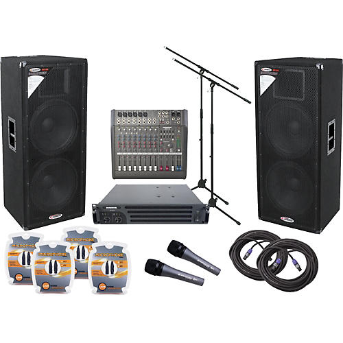 Mackie DFX 12-Channel PA Package