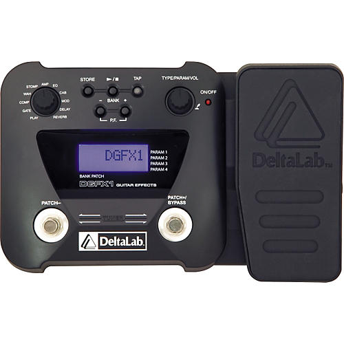 deltalab dgfx1 guitar multi effects pedal musician 39 s friend. Black Bedroom Furniture Sets. Home Design Ideas
