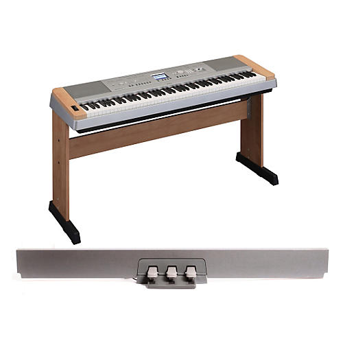 Yamaha DGX-640 88-Key Digital Piano Cherry with LP-7 Pedal Unit