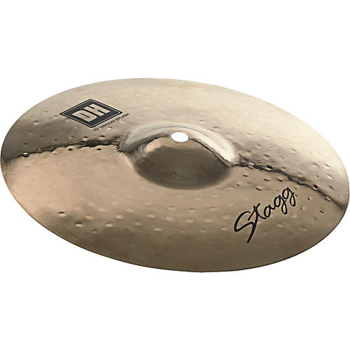 Stagg DH Dual-Hammered Brilliant Medium Splash Cymbal 12 in.