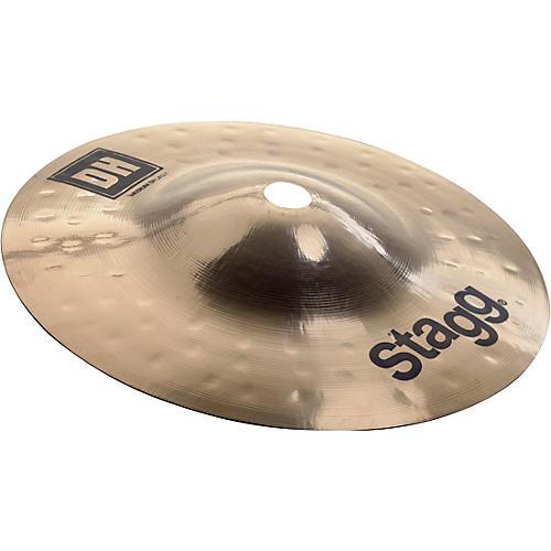 Stagg DH Dual-Hammered Brilliant Medium Splash Cymbal 8 in.