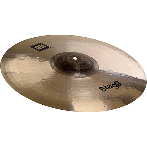 Stagg DH Dual-Hammered Exo Medium Thin Crash Cymbal 17 in.