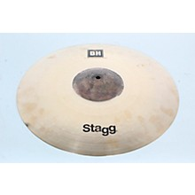 Open Box Stagg DH Dual-Hammered Exo Medium Thin Crash Cymbal