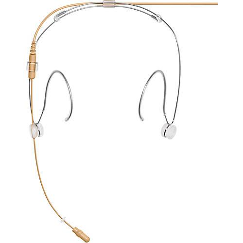 Shure DH5 DuraPlex Omnidirectional Headset Microphone (MTQG Connector) MTQG Tan