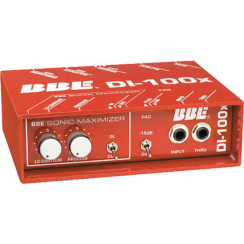 BBE DI-100X Active Direct Box