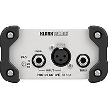 Klark Teknik DI 10A Active DI Box with MIDAS Transformer