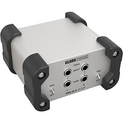 Klark Teknik DI 20P Passive Stereo DI Box with MIDAS Transformer
