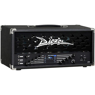 Diezel DIEZEL VHX HEAD  - 100WATT - ALL TUBE HEAD WITH BUILT IN DSP EFFECTS AND IR LOADER - 4 x KT77 TUBES