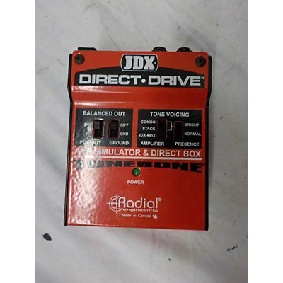 Radial Engineering DIRECT DRIVE TONEBONE Effect Pedal
