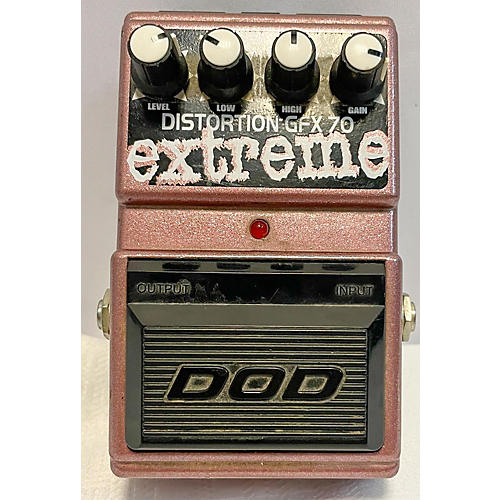 DOD DISTORTION EXTREME GFX-70 Effect Pedal