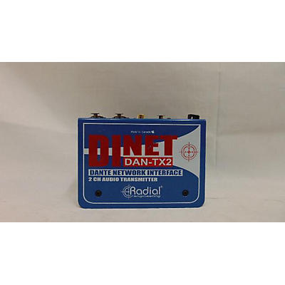 Radial Engineering DInet DAN-TX2 Audio Interface